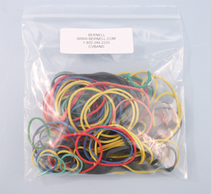 (100) Multi-Color Rubber Bands