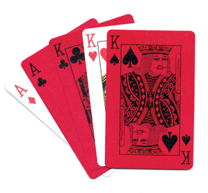 Sherman Red/GreenPlaying CardsLog In or Call for Wholesale Pricing.