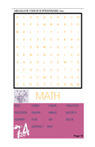  Word Search Book 2 (5 Pack) 