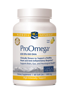 Nordic Naturals ProOmega® with Lemon Flavor (120 Soft Gels)