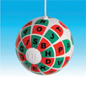  Hard R/G Training Ball (VTE)   (Pkg. of 3) - with Letters