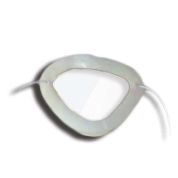 Eye Shields with Foam (Small) - Color: Clear (Pkg. of 12)