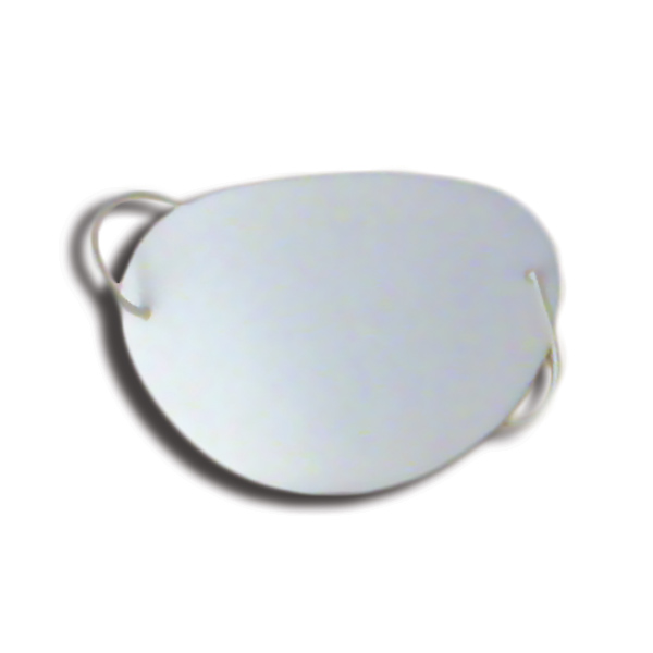 Eye Shields with Foam (Large) - Color: White (Pkg. of 6)