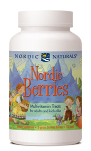 Nordic NaturalsNordic Berries™ Multivitamin120 Gummy BerriesSave 15% Off MRSPWholesale Pricing Available to Doctors, Please Call