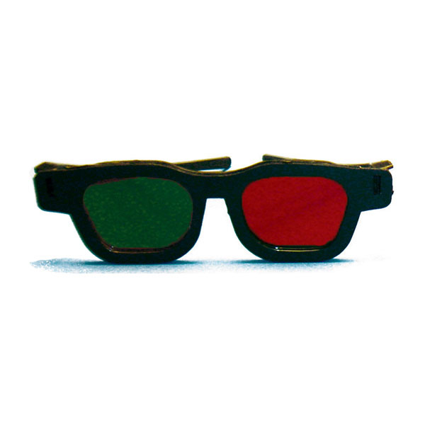 Reversed Original Bernell Model - Red/Green Goggles (Pkg. of 6)