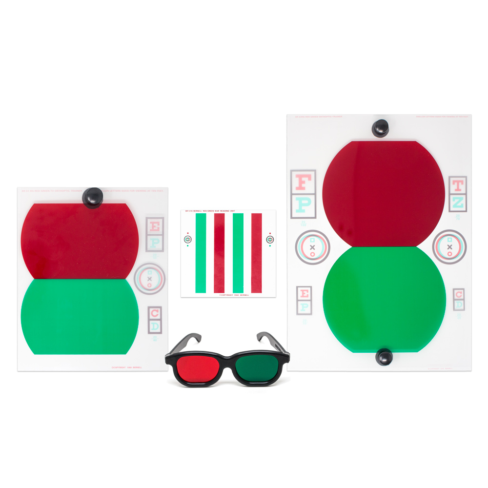 Stereo Trainers (60 Series) - Red/Green Version