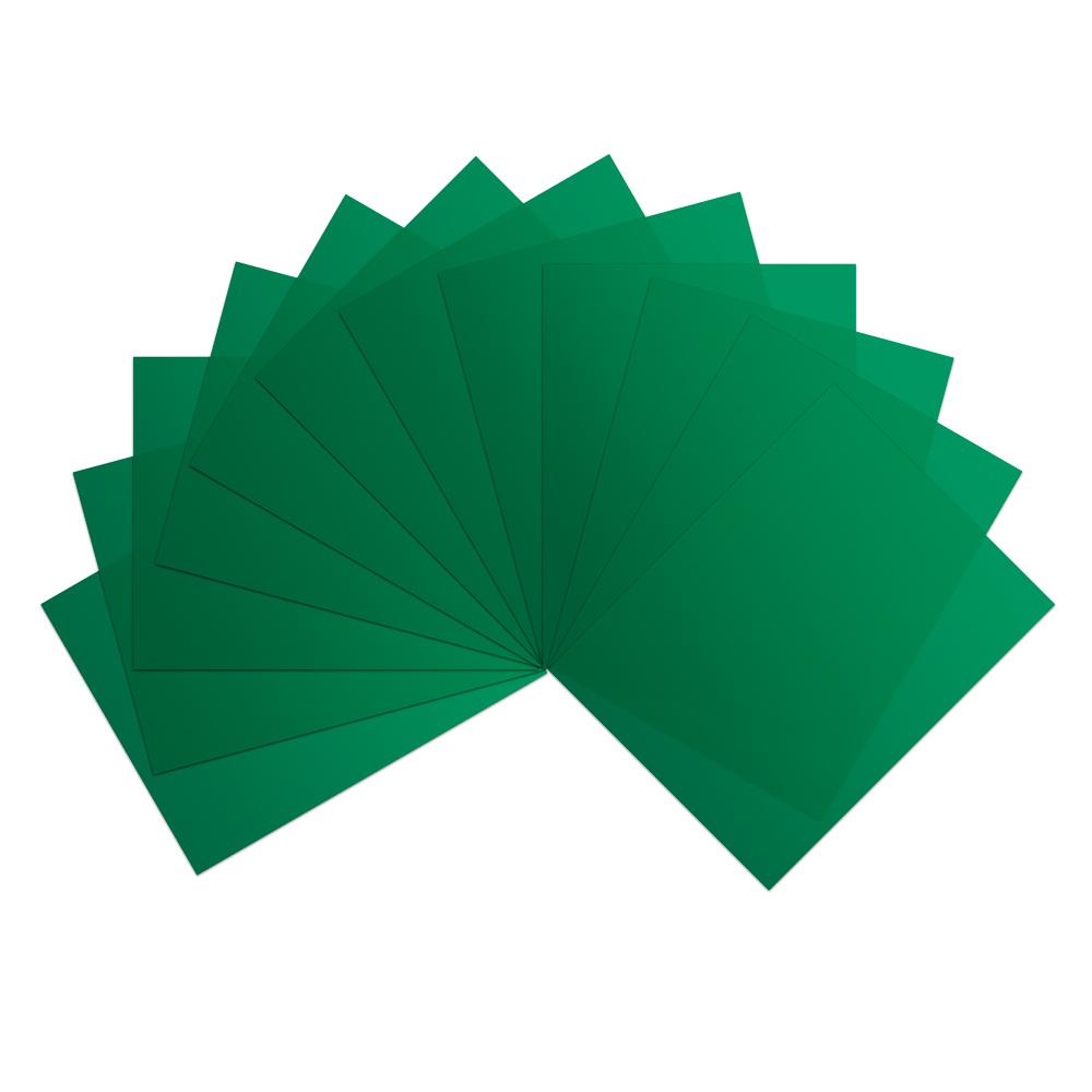 Green Vinyl Sheets (Pkg of 12)