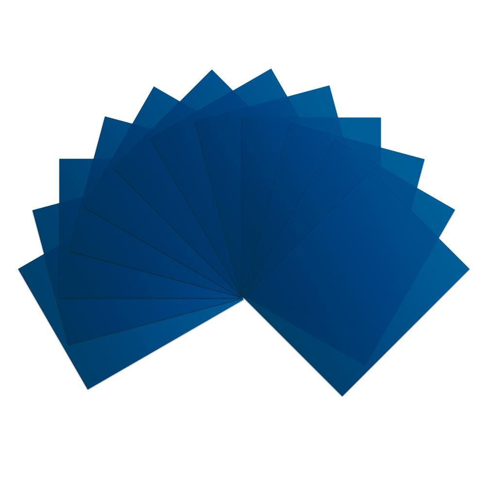 Blue Vinyl Sheets (Pkg of 12)