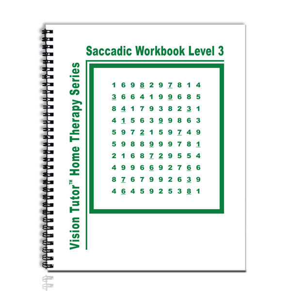 Saccadic Workbook (Level 3)