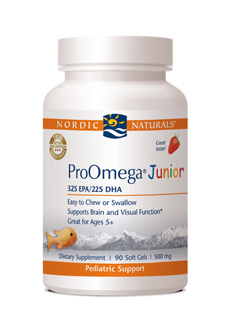 Nordic Naturals  ProOmega&reg; Junior   with Strawberry Flavor    (90 Soft Gels)     Save 15% Off MRSP     Wholesale Pricing Available  to Doctors, Please Log In or Call</fo