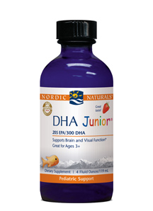 Nordic Naturals DHA® Juniorwith Strawberry Flavor(4 fl. Oz. Liquid)Save 15% Off MRSPWholesale Pricing Available to Doctors, Please Call