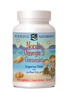 Nordic Naturals Nordic Omega-3 Gummies™with Tangerine Flavor(60 Gummies)Save 15% Off MRSPWholesale Pricing Available to Doctors, Please Call