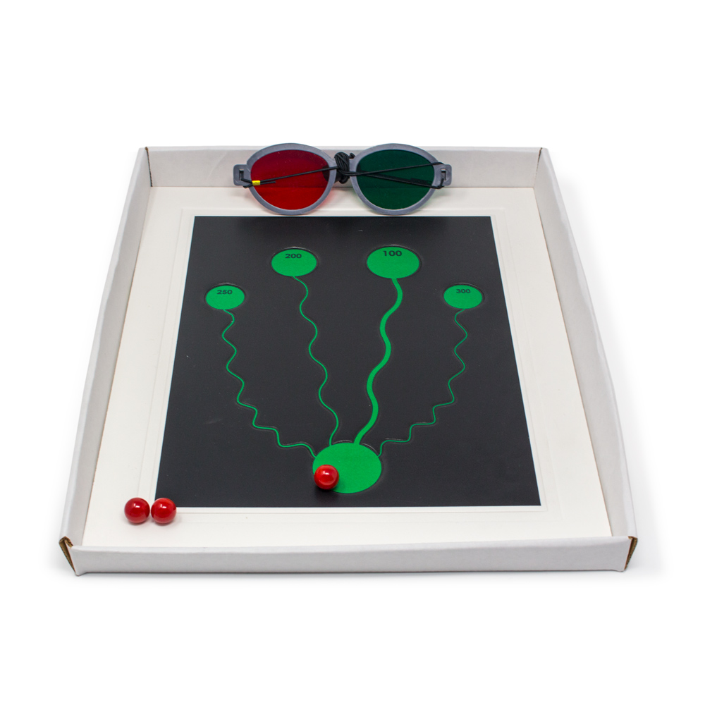 Anti-Suppression  Maze Game   Squiggly Line