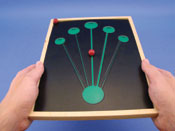 Anti-Suppression  Maze Game   Straight Line (Wood Frame)