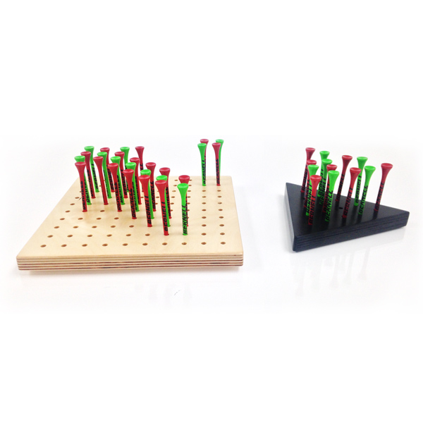 Anti-Suppression Pegboard Games (Available in Square or Triangle)