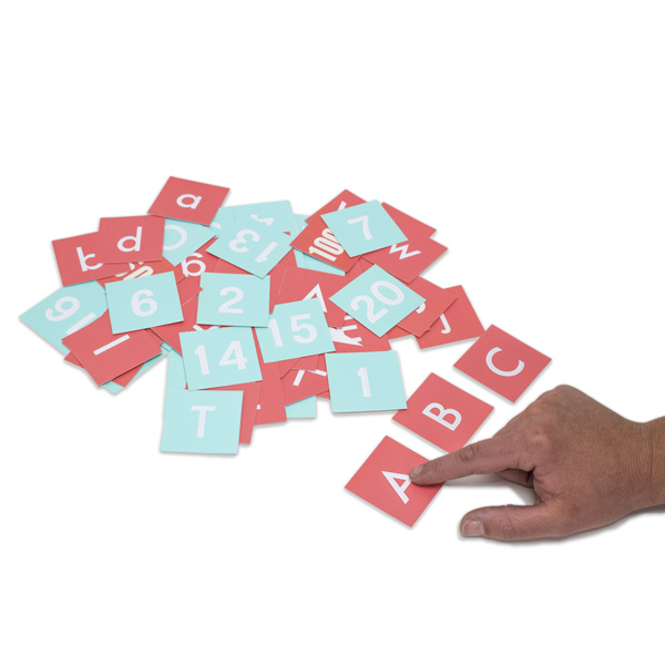 Visual-Tactile Cards (80 Card Set)