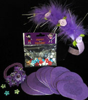 Krafty Patches™    Princess Patch Sets  (20 Patches)  Color: Purple