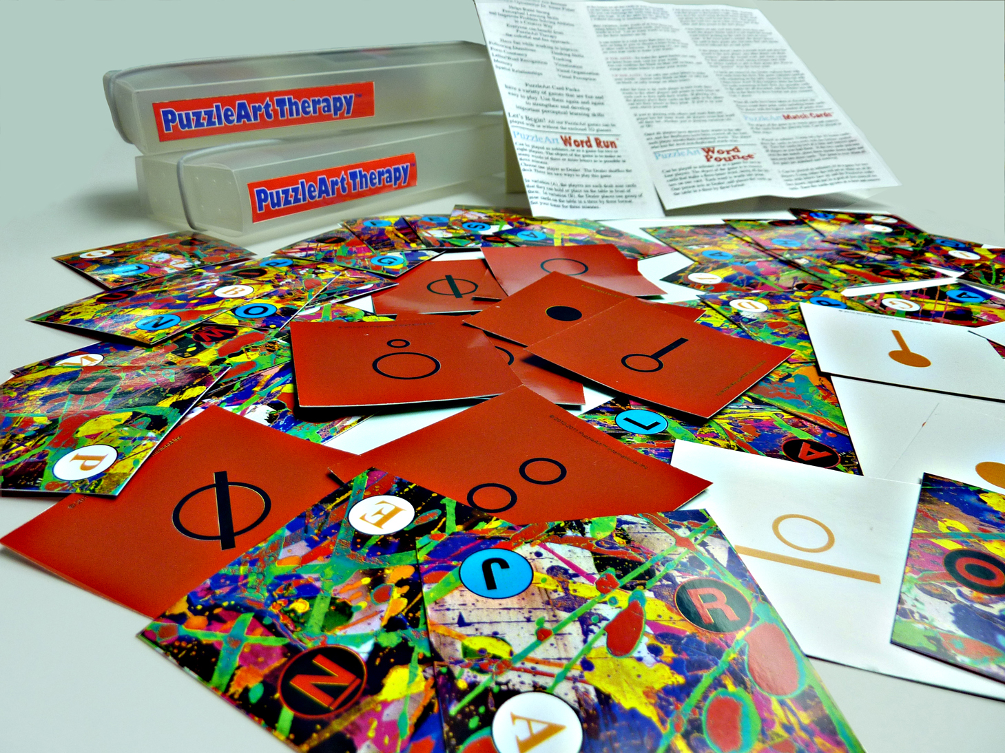 PuzzleArt Card Pack 5+In Full 3D color3D Glasses Included