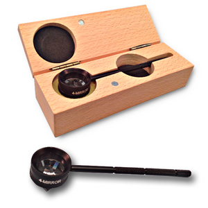 Gonioscopy Lens with Removable Handle and 4 Mirrors