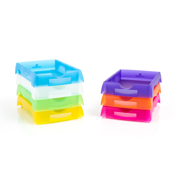 Deluxe Stackable Optical Trays - Pkg of 5