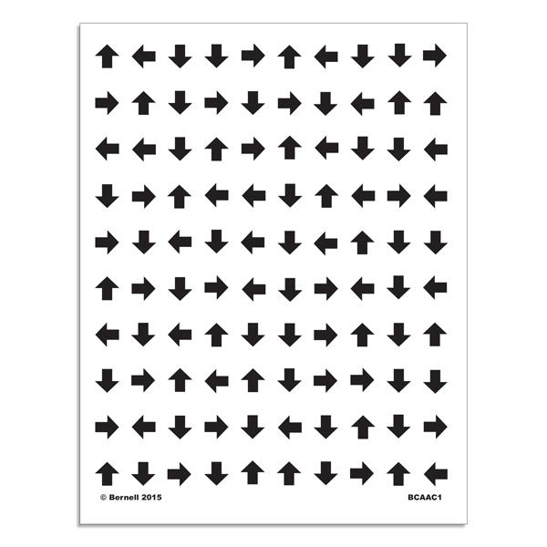 Bernell Accommodative Arrow Chart Set