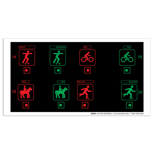 Black Background Tranaglyph™ - B9