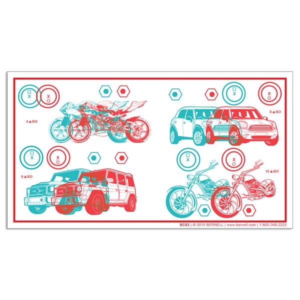 Fixed Demands Tranaglyph™ (4-10PD) - Bikes & Cars