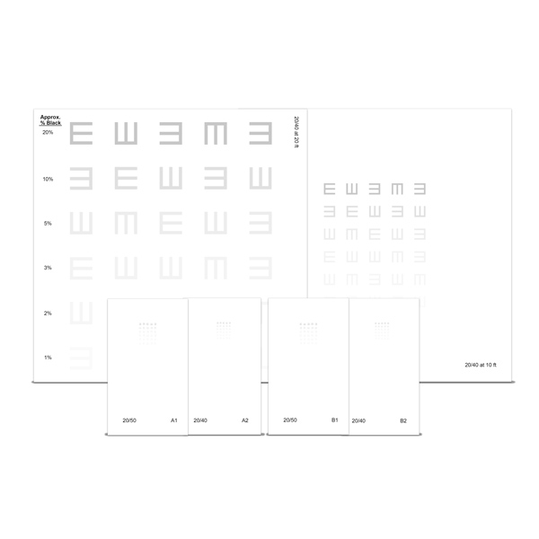 Contrast E Training Chart Set