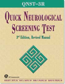 Quick Neurological Screening Test -3R
