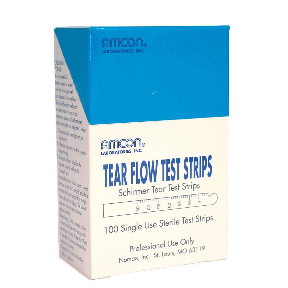 Tear Flow Test Strips 100 Strips