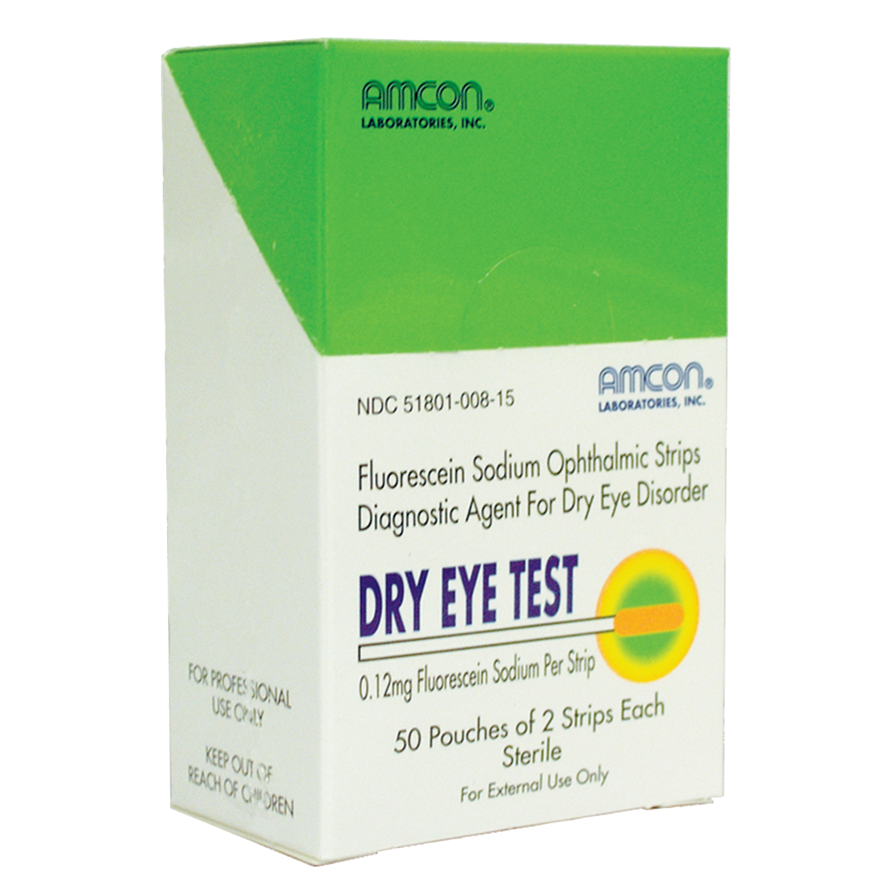 Dry Eye Test (DET) 0.12mg 100 Strips
