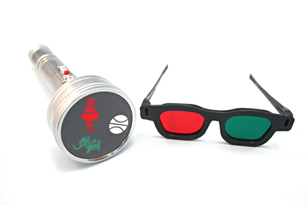 3-Figure Worth Testwith Red/Green Glasses