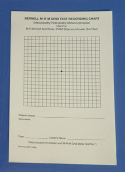 Maculopathy Recording Forms(Pad of 50)
