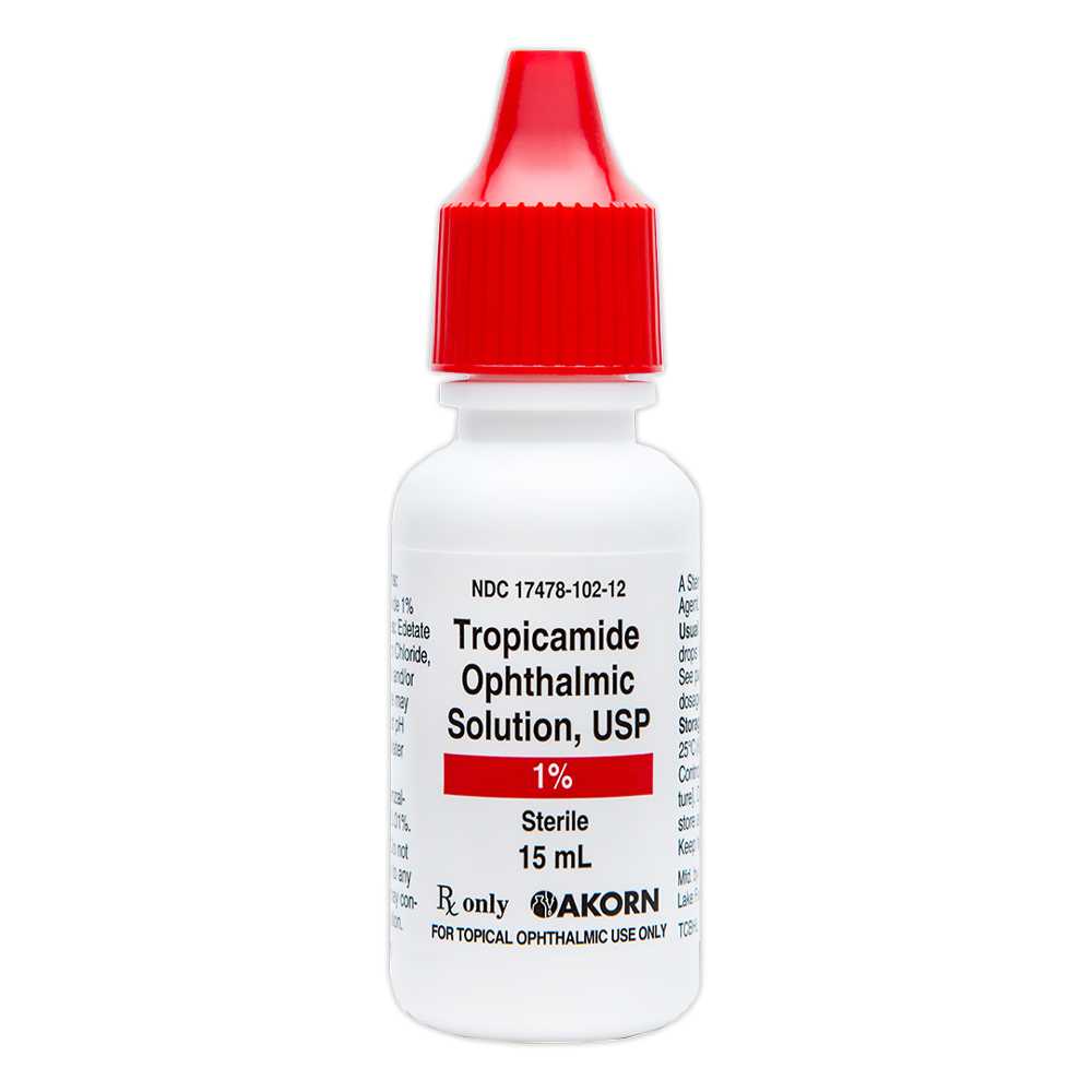 Tropicamide 1.0% (15mL) Bottle