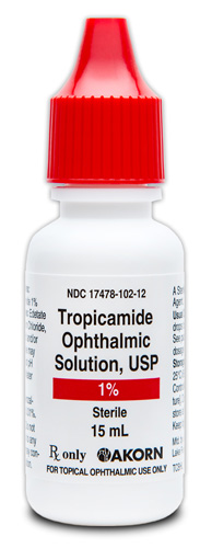 Tropicamide 1.0% (15mL) Bottle