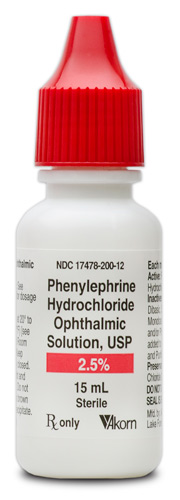 Phenylephrine 2.5% (15mL)