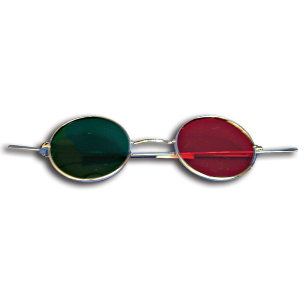 Reversible Metal Frame with Red/Green Lenses