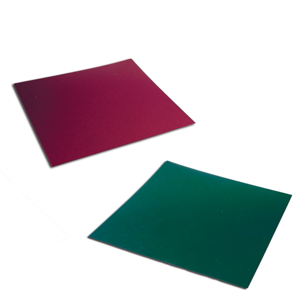 Red or Green Vinyl Sheets
