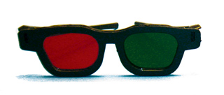 Original Bernell Model - Red/Green Goggles - Original Bernell Model - Red/Green Goggles (Pkg. of 6)