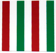 "Red/Green Version - 8-1/2"" x 5-1/2"""