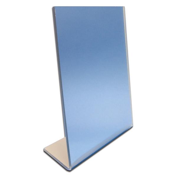 Plexiglass mirror vs glass mirror wide angle rearview for Standing glass mirror