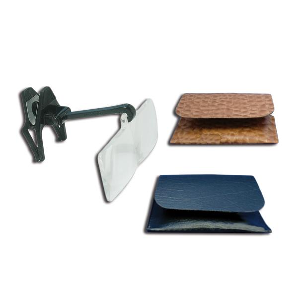 Opticaid™ Clip-OnBinocular Magnifier