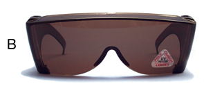 (B)  LaRue Goggle   (Regular) - Brown Amber