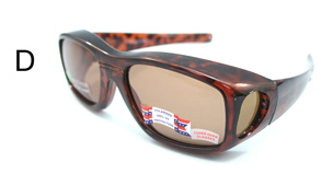 (D)  LaRue Goggle   (Polarized) - Brown Amber