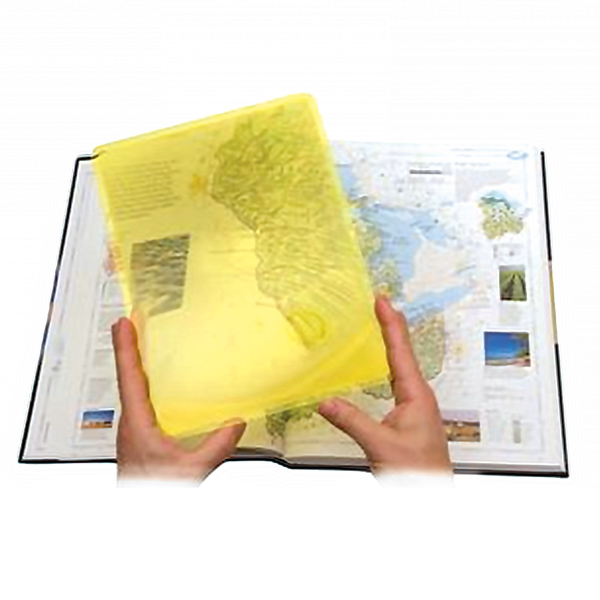 2X Page Magnifier in High Contrast