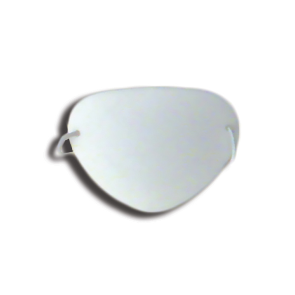 Eye Shields with Foam (Small) - Color: White (Pkg. of 12)