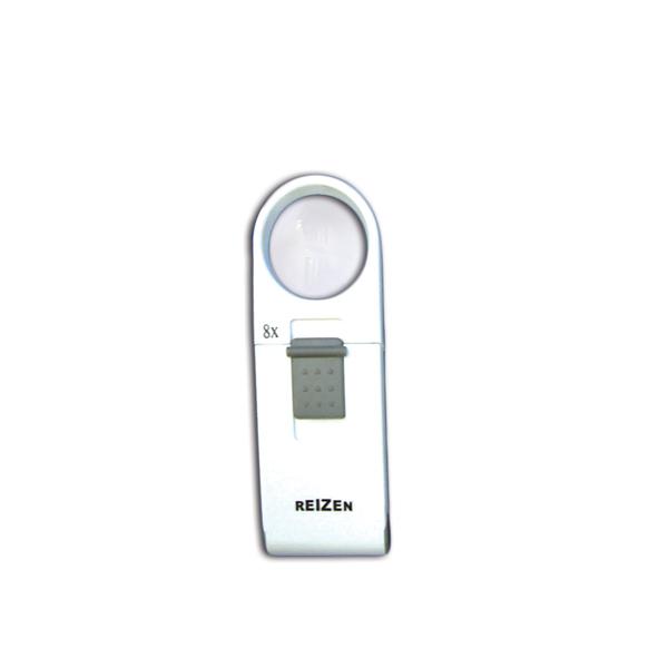 Reizen 8x Pocket LED Magnifier