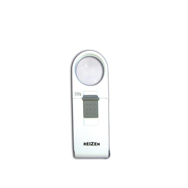 Reizen 10x Pocket LED Magnifier