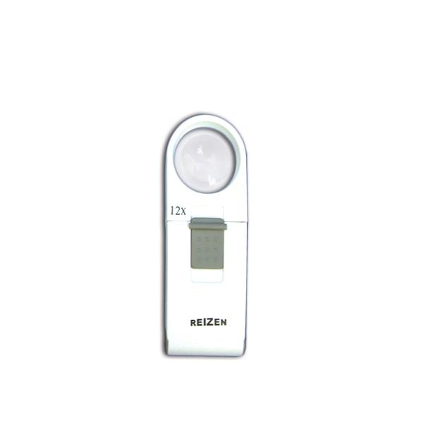 Reizen 12x Pocket LED Magnifier