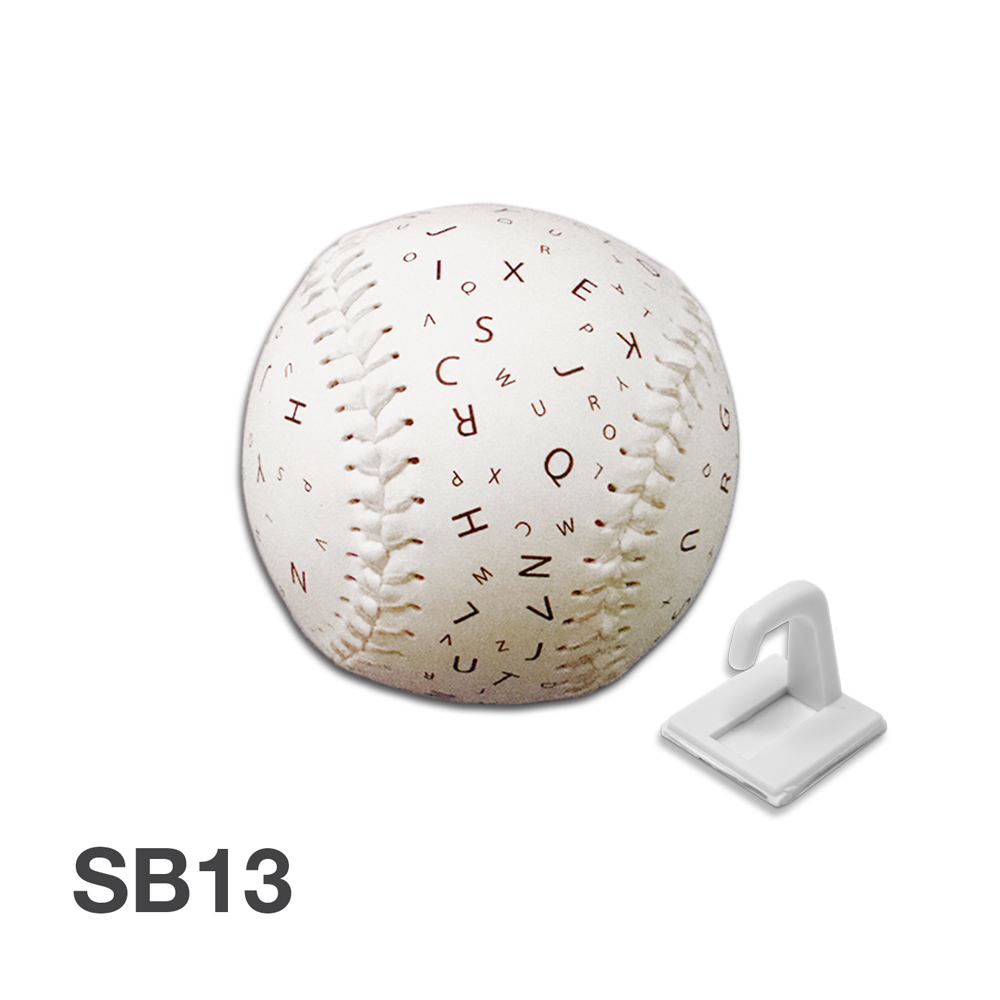 Softball Size Sports Letter Balls - 12 & 24 Font Size